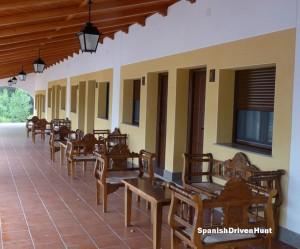 Spanish driven hunt - accommodation