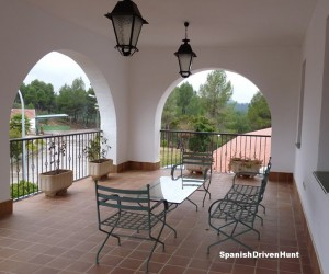 Spanish driven hunt - accommodation